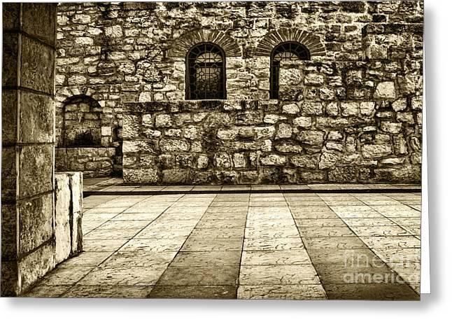 Kalemegdan Greeting Cards - Church Kalemegdan St Petka Greeting Card by Milan Karadzic
