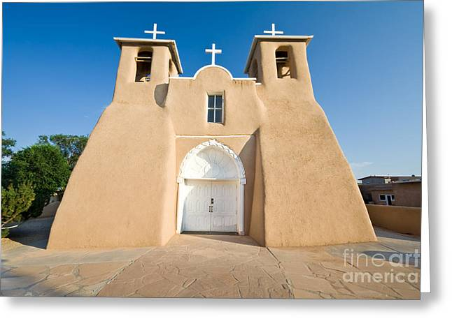 St. Francis Day Greeting Cards - Church Mission Greeting Card by Jim Pruitt