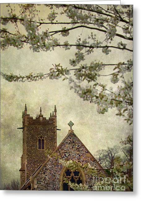 Boulder Night Life Greeting Cards - Church Greeting Card by Svetlana Sewell