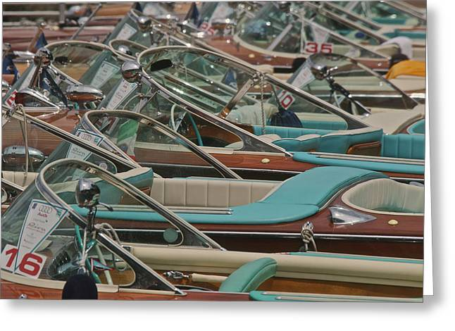 Portofino Italy Greeting Cards - Classic Riva Greeting Card by Steven Lapkin