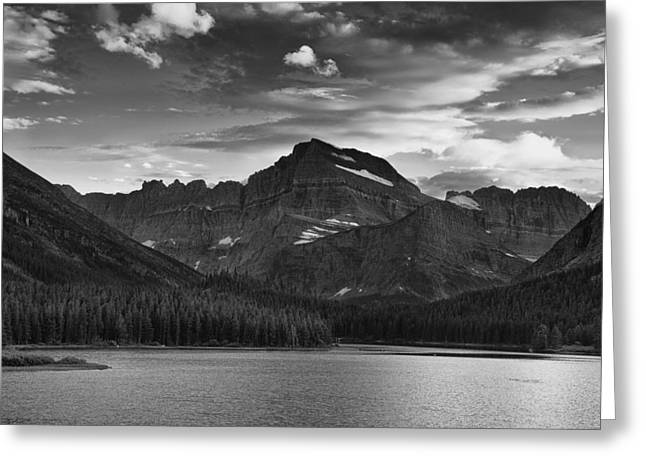 Montana Landscapes Photographs Greeting Cards - Clearing Storm Greeting Card by Andrew Soundarajan