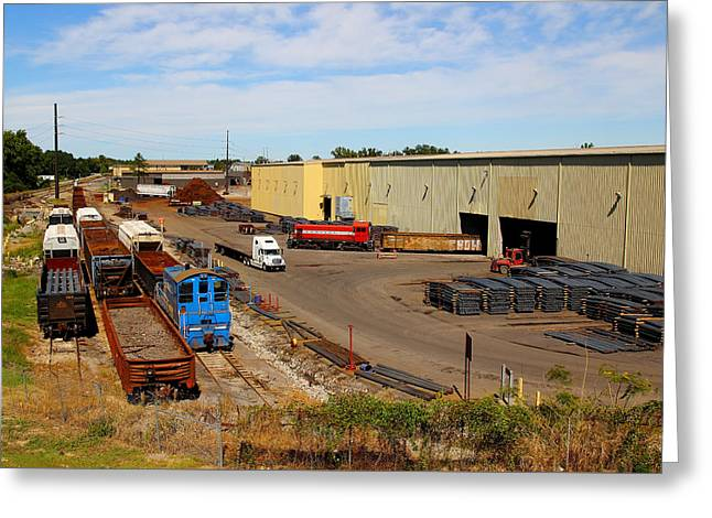 Alco Locomotives Greeting Cards - CMC Steel Greeting Card by Joseph C Hinson Photography