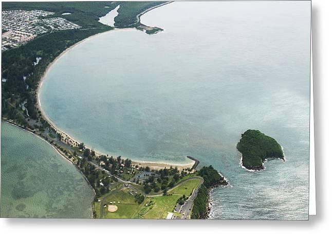 Puerto Rico Golf Course Greeting Cards - Coast of Puerto Rico Greeting Card by Carl Purcell