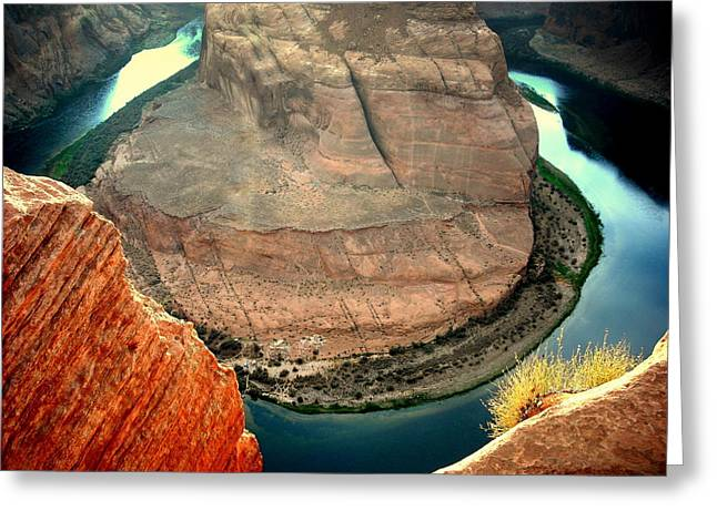 Dam Framed Prints Greeting Cards - Colorful Bend Greeting Card by J Allen