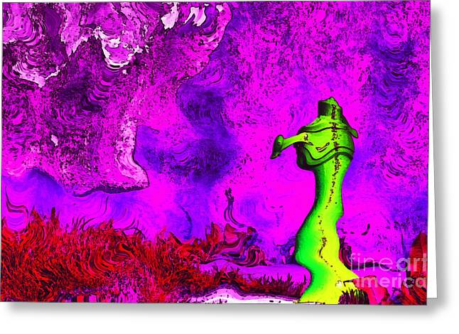 Fontain Greeting Cards - Colorful fontain Greeting Card by Odon Czintos