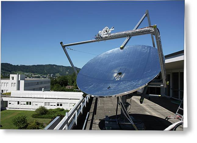Concentrated Solar Power Greeting Card by Ibm Research