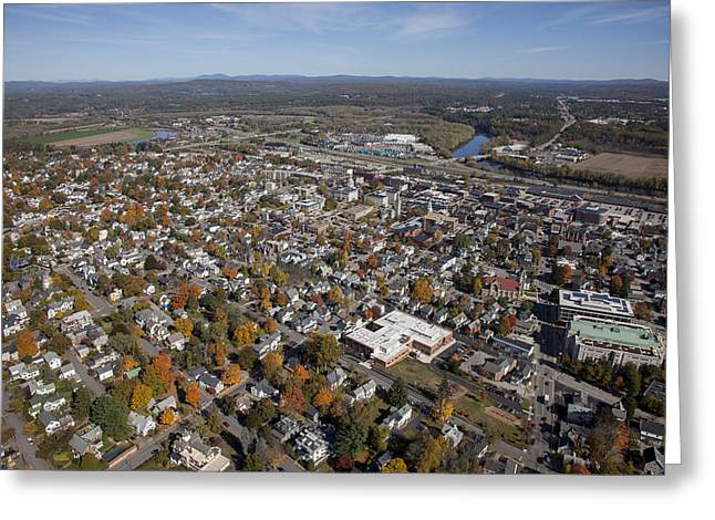 Concord, New Hampshire Nh Greeting Card by Dave Cleaveland