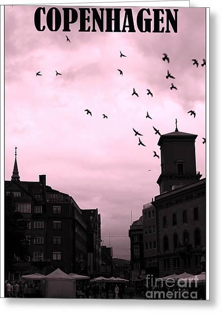 Copenhagen Denmark Greeting Cards - Copenhagen Greeting Card by Sophie Vigneault