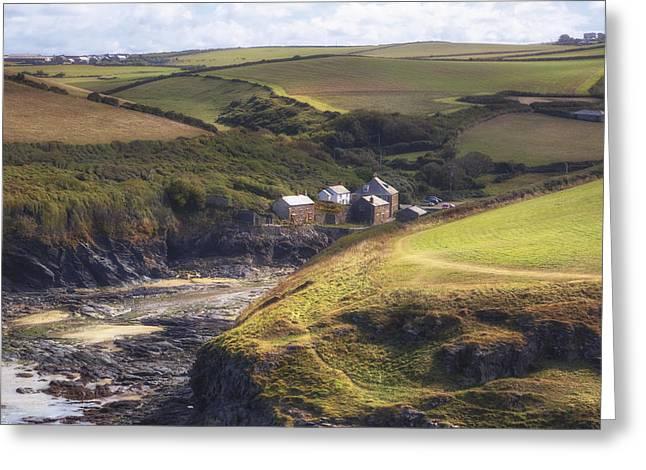 Cornwall Greeting Cards - Cornwall - Port Quin Greeting Card by Joana Kruse