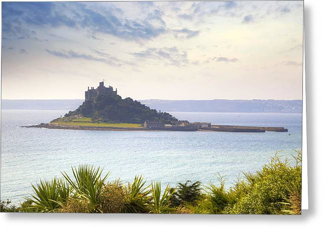 St. Michael Greeting Cards - Cornwall - St Michaels Mount Greeting Card by Joana Kruse