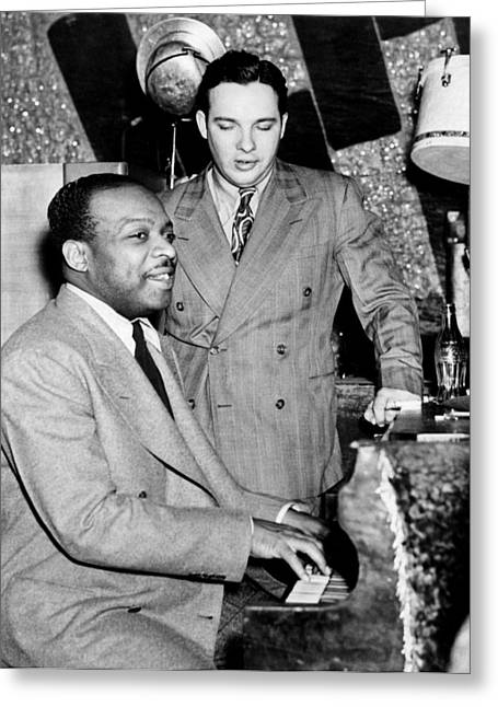 Count Basie (1904-1984) Greeting Card by Granger