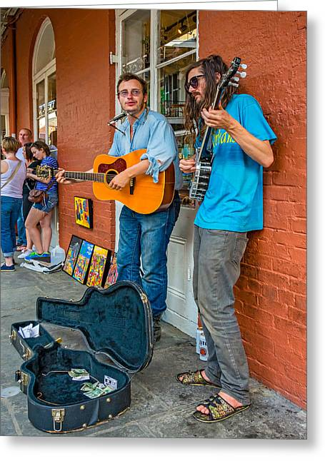 Picking Greeting Cards - Country in the French Quarter Greeting Card by Steve Harrington