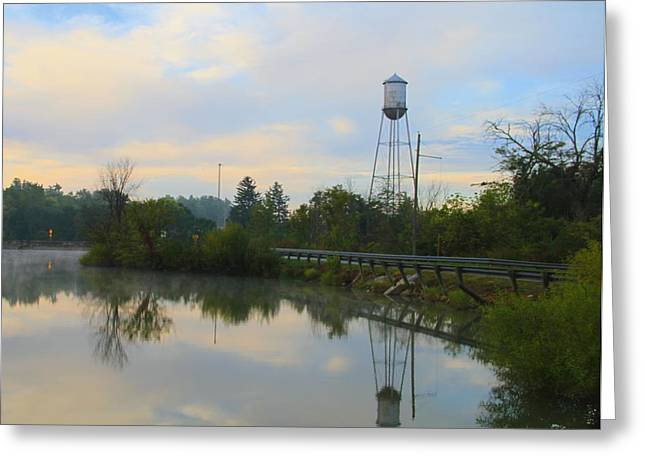 Driving Life Greeting Cards - Country Roads Greeting Card by Dan Sproul