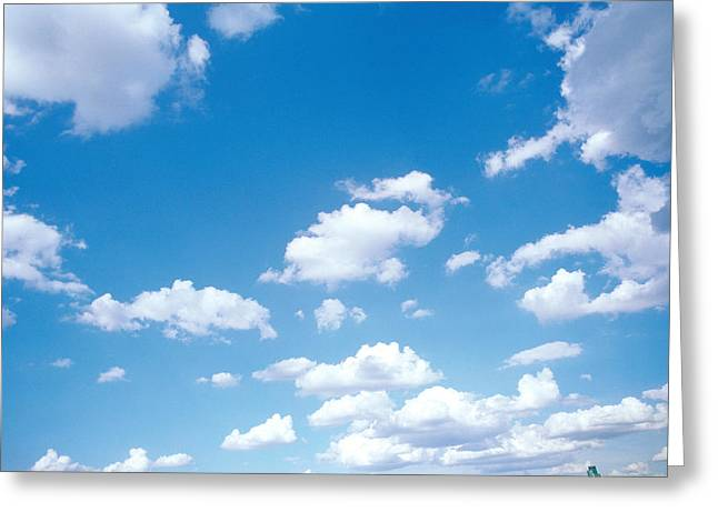 Cumulus Clouds Greeting Cards - Cumulus Clouds Greeting Card by Panoramic Images