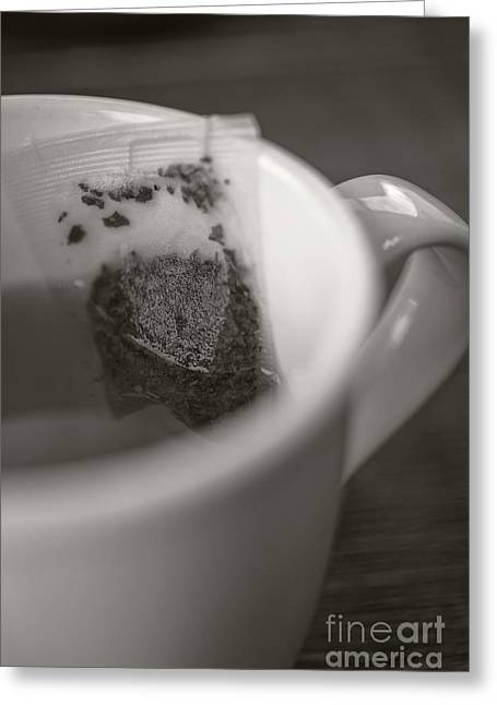 Sipping Greeting Cards - Cup of Tea Greeting Card by Edward Fielding