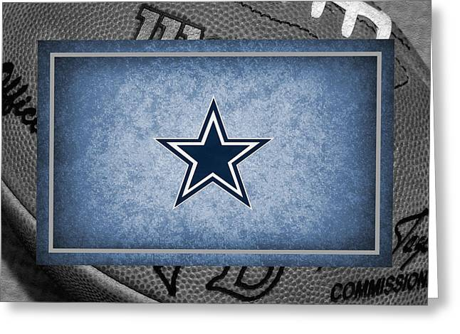Bryant Greeting Cards - Dallas Cowboys Greeting Card by Joe Hamilton