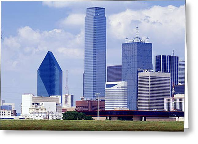 West Tx Greeting Cards - Dallas, Texas, Usa Greeting Card by Panoramic Images