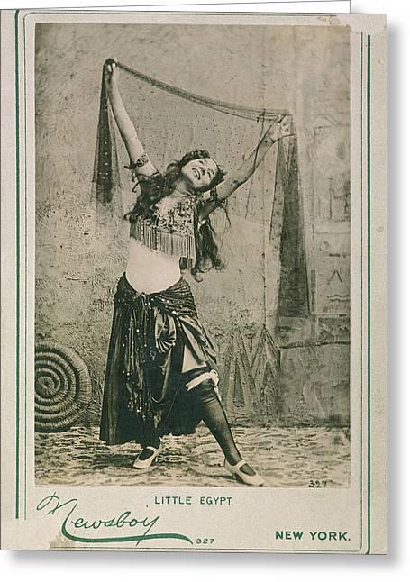 Dancer Little Egypt, 1893 Greeting Card by Granger