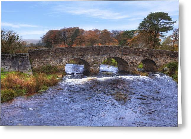 Devon Greeting Cards - Dartmoor - Postbridge Greeting Card by Joana Kruse
