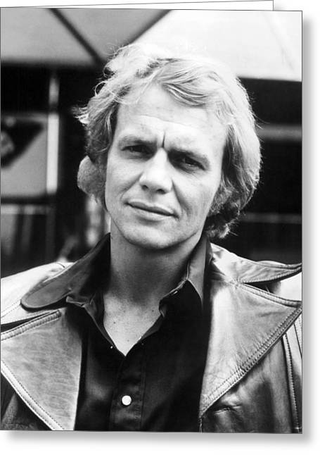 Souls Photographs Greeting Cards - David Soul in Starsky and Hutch  Greeting Card by Silver Screen