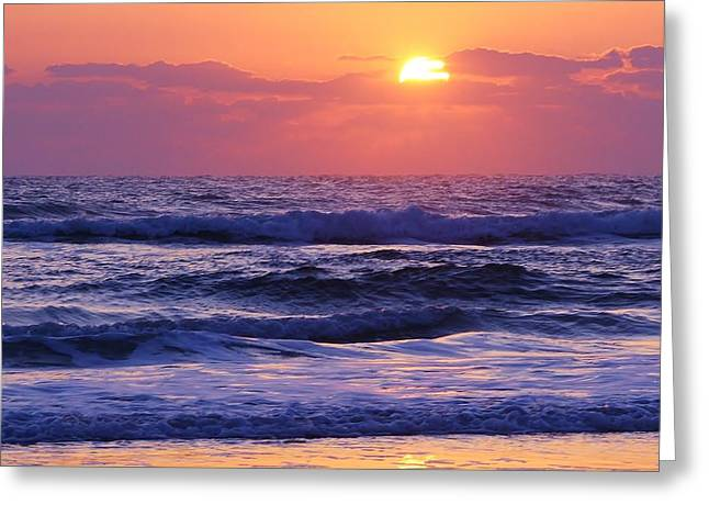 Dawn Of A New Day Greeting Card by Bruce Bley