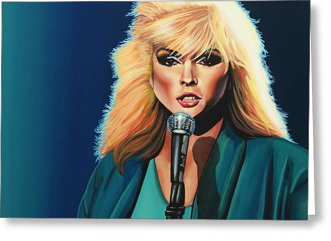 Stein Greeting Cards - Deborah Harry or Blondie Greeting Card by Paul  Meijering