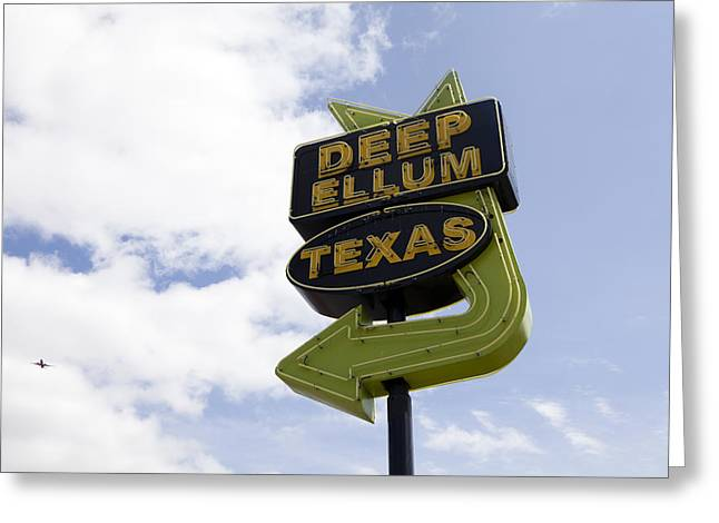 Elm St Greeting Cards - Deep Ellum Greeting Card by Karen Cowled