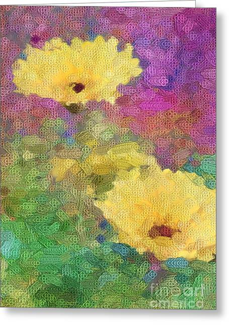 Delight Greeting Card by Betty LaRue