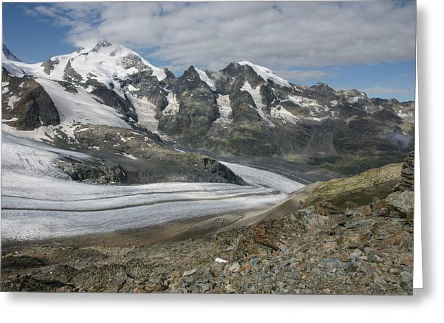 Graubunden Greeting Cards - Diavolezza Greeting Card by Christian Zesewitz