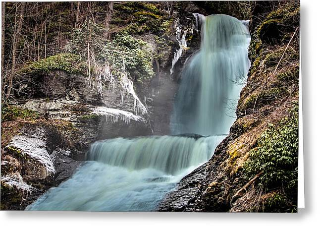 Jahred Allen Photography Greeting Cards - Dingmans Falls Greeting Card by Jahred Allen