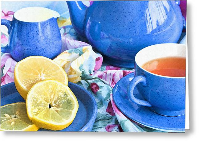 Canadian Photographer Greeting Cards - Do You Take Lemon? Greeting Card by Theresa Tahara