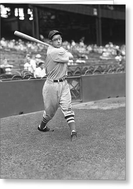 Dimaggio Greeting Cards - Dominic P. Dom DiMaggio Greeting Card by Retro Images Archive