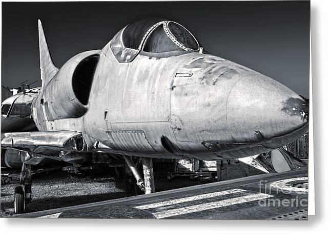 Douglas Skyhawk A-4b Greeting Card by Gregory Dyer