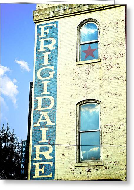 Ghost Signs Greeting Cards - Downtown Mercantile Greeting Card by Brandon Addis