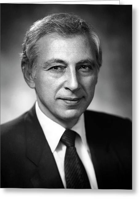 Dr. Robert Gallo Greeting Card by National Cancer Institute