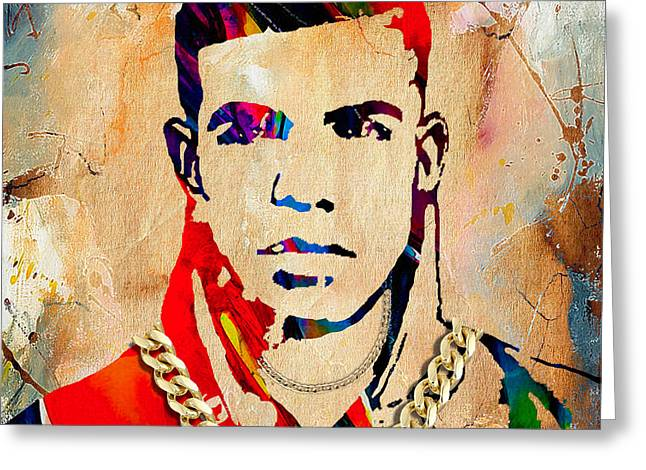 Drake Greeting Cards - Drake Collection Greeting Card by Marvin Blaine