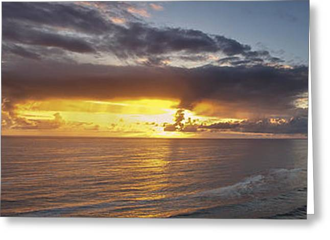 Ocean Art Photography Greeting Cards - Drama after the Storm Greeting Card by Andrew Soundarajan