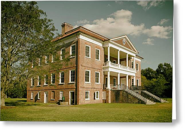 Drayton Hall Plantation House Greeting Card by Mountain Dreams