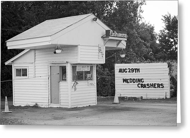 Fingerlakes Greeting Cards - Drive-In Theater Greeting Card by Frank Romeo