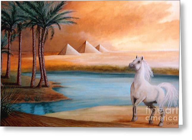 Workhorse Greeting Cards - Dust Storm Greeting Card by Corey Ford