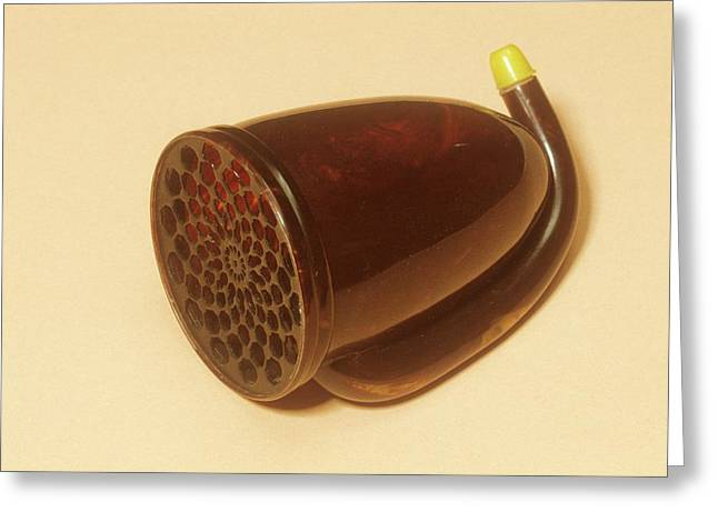 Ear Trumpet Greeting Card by Science Photo Library