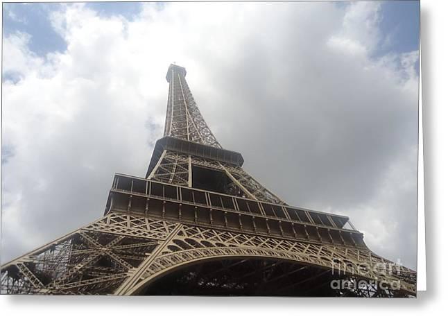 Eiffel Tower  Greeting Card by Tashia  Summers