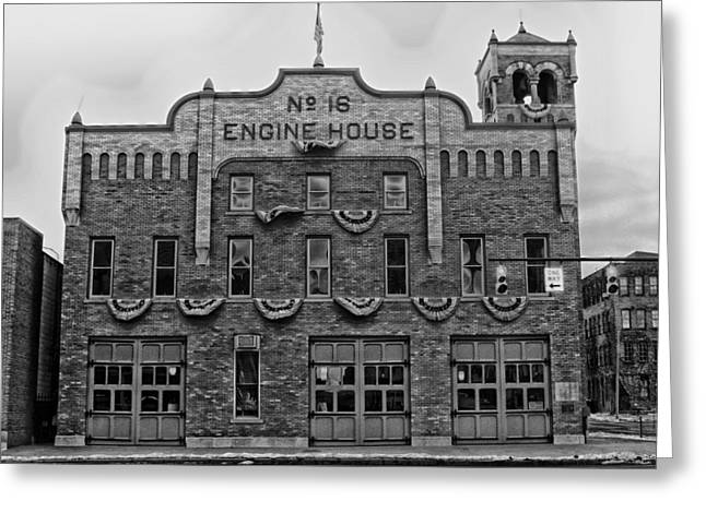 Engine House Greeting Cards - Engine House Number 16 - Columbus Ohio Greeting Card by Mountain Dreams
