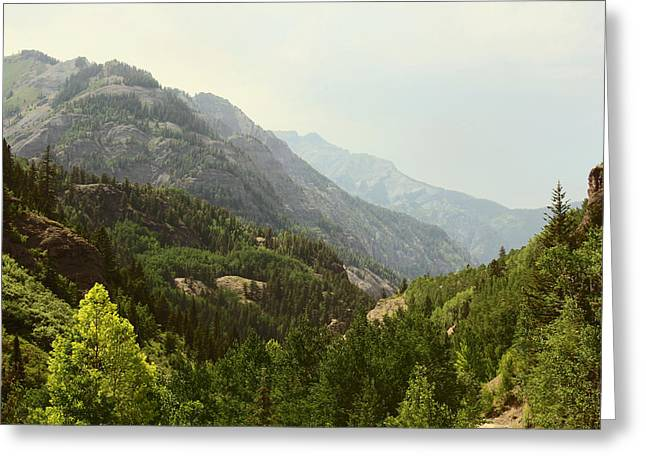 Engineer Pass In Colorado  Greeting Card by Brett Pfister