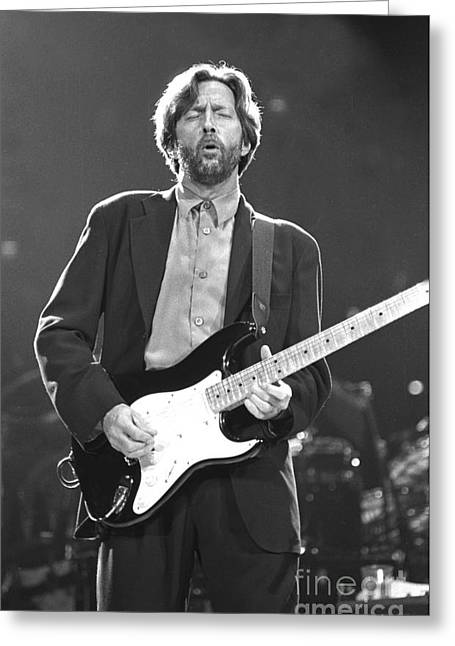 Award Greeting Cards - Eric Clapton Greeting Card by Front Row  Photographs