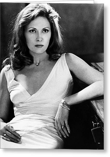 Dunaway Greeting Cards - Faye Dunaway in Network  Greeting Card by Silver Screen