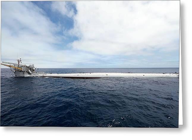 Floating Instrument Platform (flip) Greeting Card by Us Air Force/john F. Williams