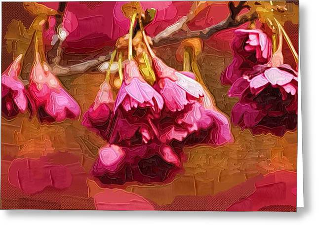 Easter Flowers Greeting Cards - Flowers Posters Greeting Card by Victor Gladkiy
