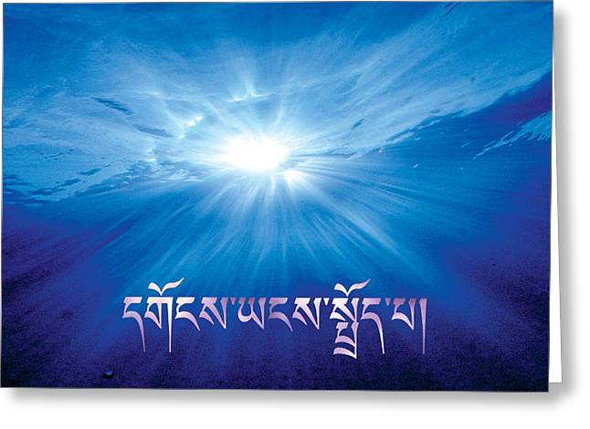Unity Consciousness Greeting Cards - Forgive Greeting Card by Brian Leonard