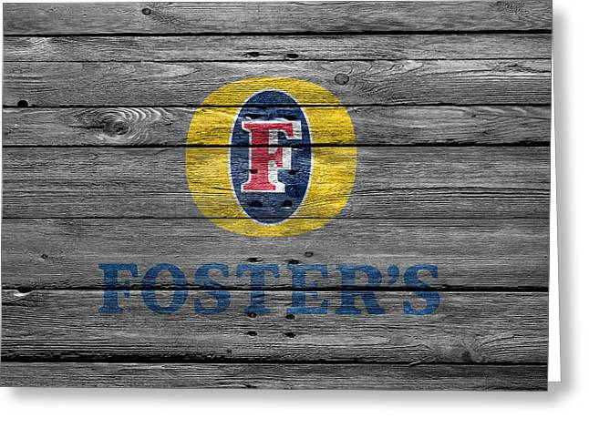 Saloons Greeting Cards - Fosters Greeting Card by Joe Hamilton